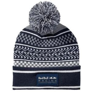 PUMA Red Bull Racing Ugly Sweater Beanie Total Eclipse- Gray Heather Adult