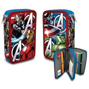 Marvel AVENGERS Doppeldecker Federpenal 23-teilig