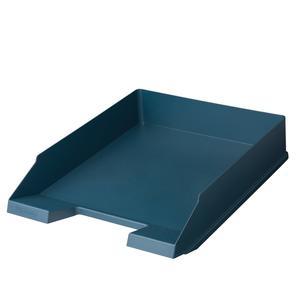 herlitz Ablagekorb GREENline A4 dunkelblau
