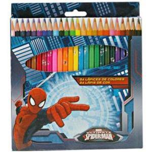 Buntstifte im Spider-Man Design 24er rund