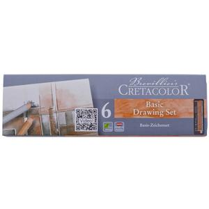 CRETACOLOR Basic Drawing Set 6-teilig