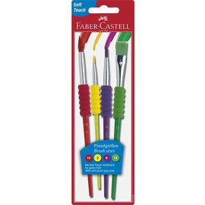 FABER-CASTELL Synthetikhaarpinsel-Set
