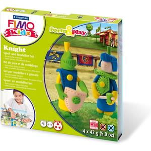 "FIMO kids Modellier-Set Form & Play ""Knight"", Level 3"