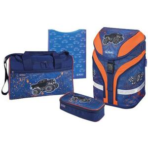 "herlitz Schulrucksack Motion Plus ""Monster Truck"""