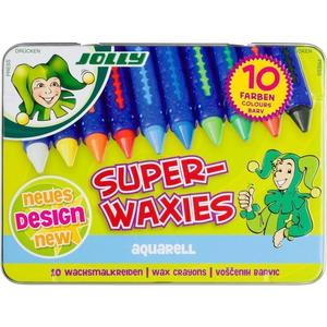 JOLLY Super-Waxies - Wachskreide aquarell 10 Stück