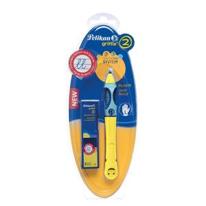 Pelikan griffix Schreiblernbleistift, gelb, für Linkshänder