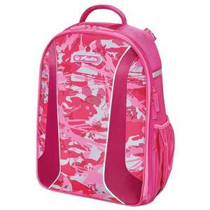 """herlitz Schulrucksack be.bag AIRGO """"Camouflage pink"""""""