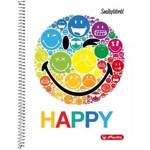 "herlitz Collegeblock SmileyWorld ""Rainbow"" A4 kariert"