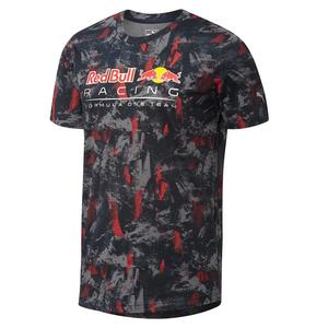 PUMA Red Bull Racing Allover Tee Total Eclipse XL