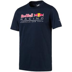PUMA Red Bull Racing Logo Tee Total Eclipse XL