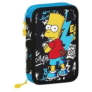 "Doppelstock Federpenal ""The Simpsons"" Bart 35 teilig"
