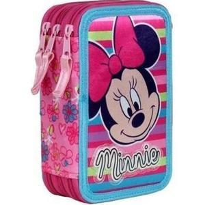 Minnie Mouse Triple Federpenal stripes 43-teilig