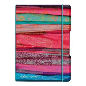 herlitz my.book flex Notizheft A5 40 Blatt kariert Scarfs