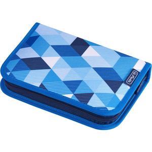 herlitz Schüleretui 31-teilig (befüllt) Blue Cubes