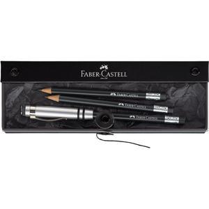 FABER-CASTELL Perfekter Bleistift DESIGN, schwarz