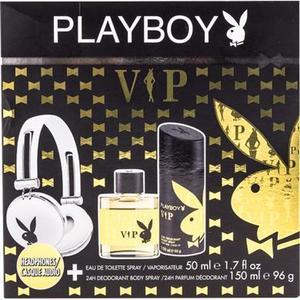 Playboy VIP Men Geschenkset mit Playboy Kopfhörer