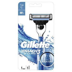 Gillette Rasierer Mach3 Start inkl. 1 Klinge AQUA-Grip
