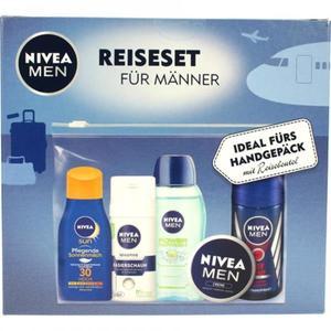 NIVEA Reiseset für Männer - fürs Handgepäck mit Reisebeutel