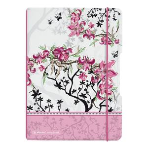"herlitz my.book flex Notizheft A5 40 Blatt kariert Ladylike ""Bloom"""