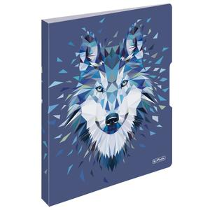 herlitz Ringbuch A4 PP 2 -Ring Wild Animal Wolf