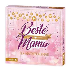 "ROTH Adventskalender ""Beste Mama"", aus Pappe, bestückt"