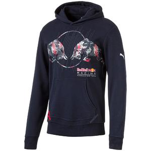 PUMA Red Bull Racing Graphic Hoodie Total Eclipse XXL