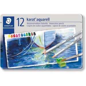 STAEDTLER karat 125 Aquarellstift, 12er Metalletui
