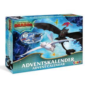 CRAZE Adventskalender DRAGONS 4 Drachenzähmen