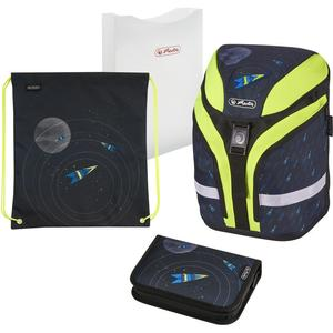 "herlitz Schulrucksack Motion Plus ""Space"""