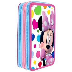 Minnie Mouse Triple Federpenal Phone 43-teilig