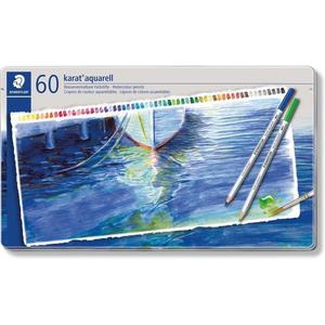 STAEDTLER karat 125 Aquarellstift, 60er Metalletui