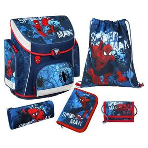 "Scooli Campus Plus Schultaschenset ""Spider-Man"" SPON8251"