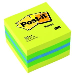 "Post-it Haftnotiz-Würfel Mini, 51 x 51 mm ""LEMON"""
