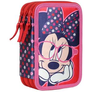 Minnie Mouse Triple Federpenal style 43-teilig