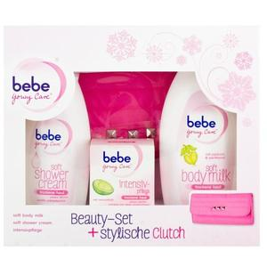 bebe YoungCare Beauty-Set + stylische Clutch 4-teilig