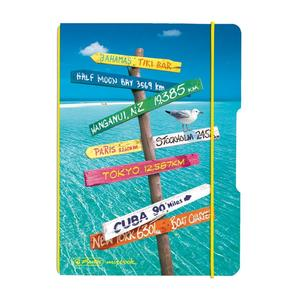 herlitz my.book flex Notizheft A6 40 Blatt kariert Reise