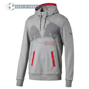 PUMA Red Bull Racing Graphic Hoodie Medium Grey Heather S