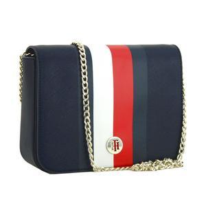 Crossbody Bag Tommy Hilfiger Honey Corporate Stripes blau Kette