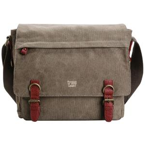troop Collegetasche canvas brown