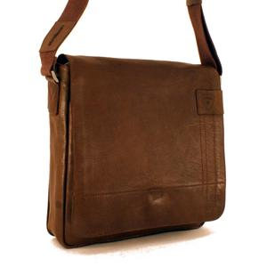 Strellson Messenger MV Upminster Umhängetasche Dark Brown