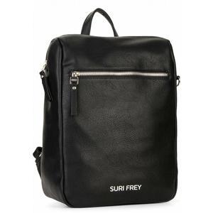 Taschenrucksack schwarz Hobo Suri Frey Terry black