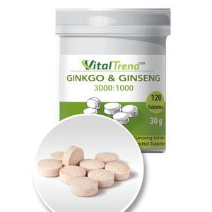 Ginkgo+Ginseng Tabletten
