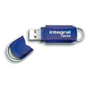 Integral USB Stick Courier 128GB bl (90-08-95/INFD128GBCOU)