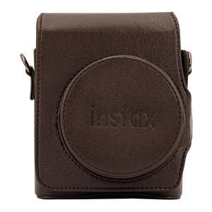 Fujifilm Instax Mini 90 Tasche, braun aus hochwertigen Polyurethanen