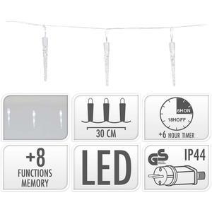 S.I.A ICICLE LIGHTING / 40 LED / 6 METER LIGHTING / WHITE
