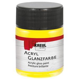 KREUL Acryl Glanzfarbe Gelb 50 ml (79502)