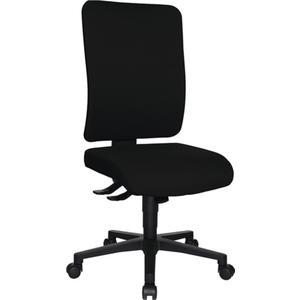 TOPSTAR Bürodrehstuhl mit Synchrontechnik schwarz 450-550 mm ohne Armlehnen Tragfähigkeit 110 kg