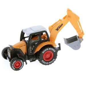 Toy Toy Toy BAGGER M.RÜCKZUG 12CM A492896