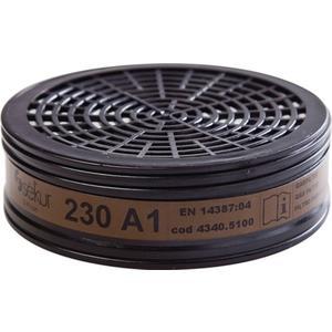 EKASTU Gasfilter 230 EN 14387:2004 + A1:2008 A1 passend für 4000370779, 4000370780