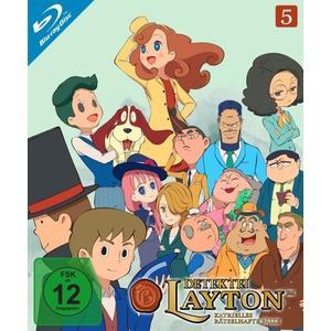 Detektei Layton - Katrielles rätselhafte Fälle: Volume 5 (Ep. 41-50) (2 Blu-rays)